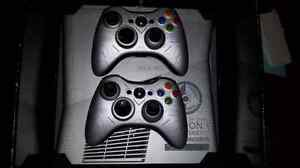 2 xbox 360's, one ps3, 1 ps2, 1 psp