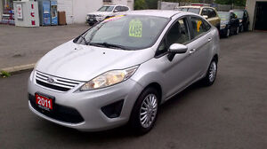 2011 FORD FIESTA only $ 4495 / CERTIFIED / 5 SPEED