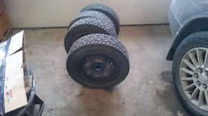"""14""""winter tires and rims for sale"""