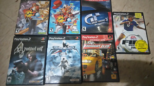 6 ps2 games $20