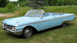 1962 Galaxie Sunliner Convertible , North Carolina Car !