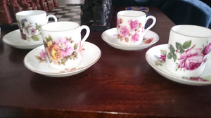 Royal Grafton English Bone China Demitasse set