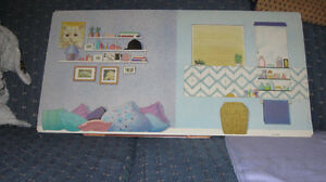 Sindy doll vintage bedroom extension for Super Home Pedigree Cornwall Ontario image 9