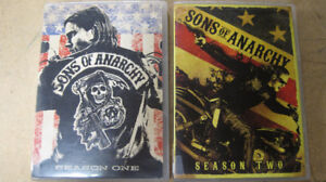 Sons of Anarchy Seasons one to five