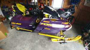 1999 ski doo formula 3 800 for sale