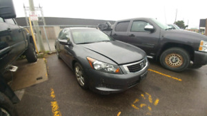 2008 Honda Accord 4Dr Part Out