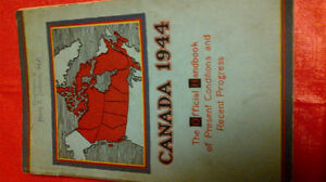 Canada 1944 The Official Handbook of Present Conditions, etc