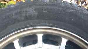Mercedes 15 inch all season tire on an aluminum rim for sale London Ontario image 2
