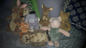 Gund classic Pooh collection