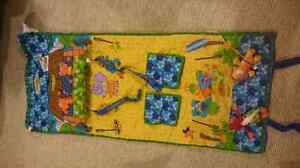 Grocery cart cover/travel tummy time mat
