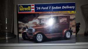 Revell '26 ford sedan delivery model car.