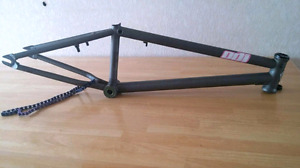 High end BMX frame and parts