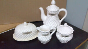 4 Pieces White Coffee/Tea set - Japan - all for $15.00