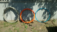 Only THREE left! HoopGear Padded Collapsible Hula Hoops!