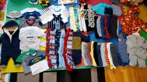 Lot vêtements 3-6mois plus de 50 items