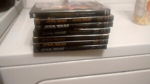 All the star wars on dvd