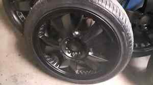 225 40 ZR 18 tires with rims London Ontario image 5