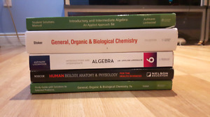 Pre Health Sciences books