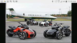 Wanted Can-Am Spyder F3