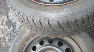 Tires on rims in good condition London Ontario image 1