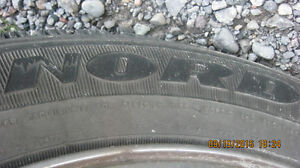 goodyear nordics  winter tires on pontiac rims Peterborough Peterborough Area image 2