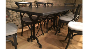 Solid Metal Table for sale - RH!
