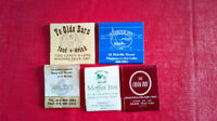 Matchbook Covers-Niagara on the Lake