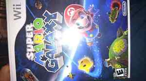 Mario galaxy 20$ smash bross 25$ wii sport 15$ zelades twinl 25$