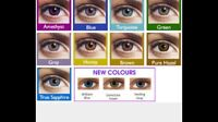 Colour contacts fresh look
