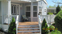 Cozy Park Model with lake view, Bayfield