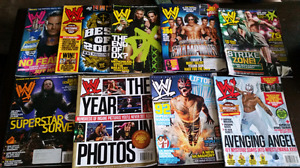 WWE Magazines and Posters