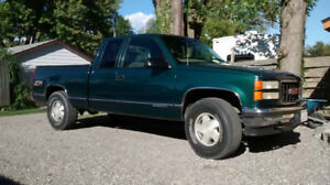 1998 GMC 4x4 extended cab  cert and e tested