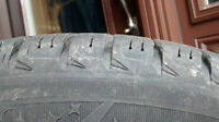 Michelin X-ICE 3 90% tread 225/50/R17 on Rims