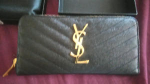 Brand New Authentic YSL Clutch/Wallet