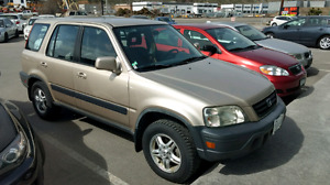 2000 Honda CRV base -- 123,000km -- $6k as is this weekend only