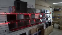 Laptop repair and we sell new and used laptop too