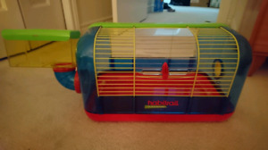 New Habitrail hamster cage
