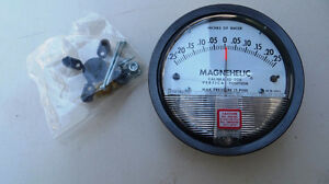 Air Pressure Gauge Magneheliс -0.25 - +0.25 inches of w.c.