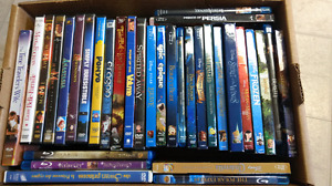 Disney movies and more for $7. each, in excellent condition..