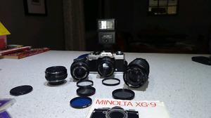 Minolta XG-M camera kit /// best offer