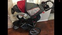 Baby trend jogging stroller and 2013 car seat