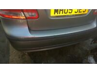 Saab 9-3 Rear Bumper 279 Grey