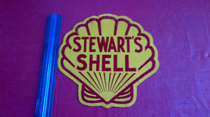 Classic Shell Oil Emblem-Very Rare Kitchener / Waterloo Kitchener Area image 2