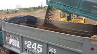 Screened organic topsoil-delivered-$245 plus hst