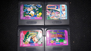 Games for The Sega Game Gear, just $10 each!