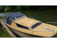16 ft cabin cruiser boat