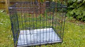 2. Small dog cages in vgc