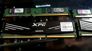 2 pairs of 2x2GB DDR3 RAM