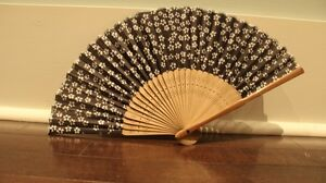 Japanese Hand Fan West Island Greater Montréal image 1