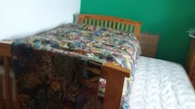 Single bed with under guest bed and drawers